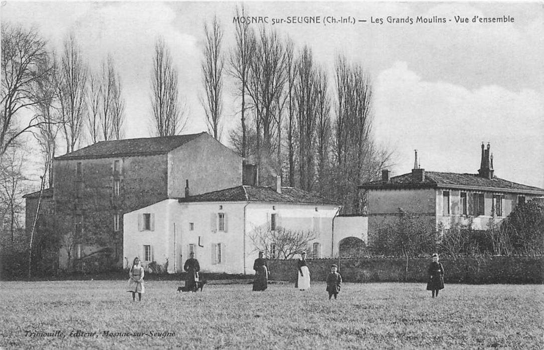 mosnac grands moulins 1900